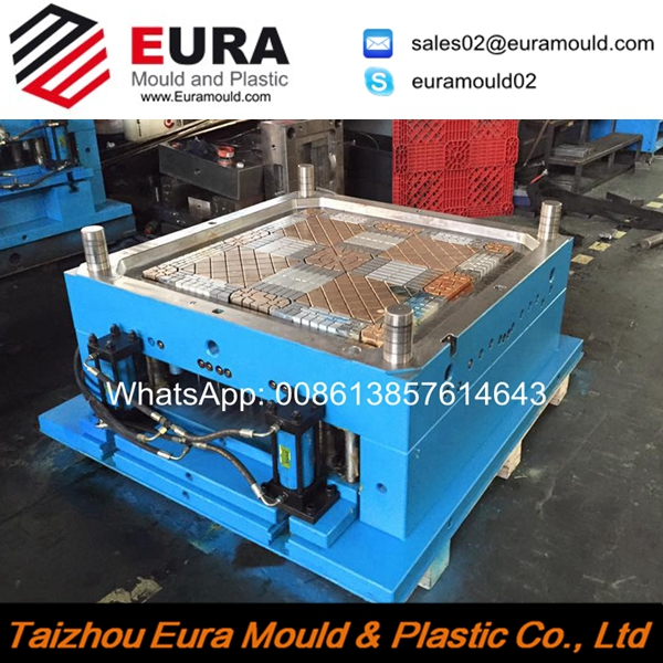 EURA Hot selling pallet mould/Taizhou plastic injection pallet mould/mould manufacturer