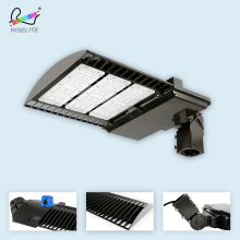 Good price led shoebox light module led parking lot lighting retrofit DLC UL outdoor 200w led street light manufacturers