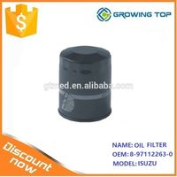 Auto Parts in tank oil filter 8-97112263-0 for isuzus