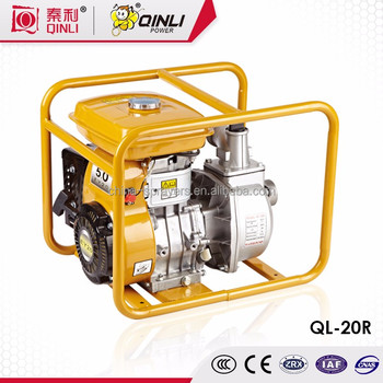 2017 hot sale gasoline water pump