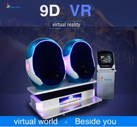 Canton fair 360 degree egg shape seat 9dvr cine amusement park 9dvr simulator