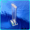 Kingmei OEM Acrylic Poster Menu Holder Perspex Leaflet Display Stands Name Holder A4 A5