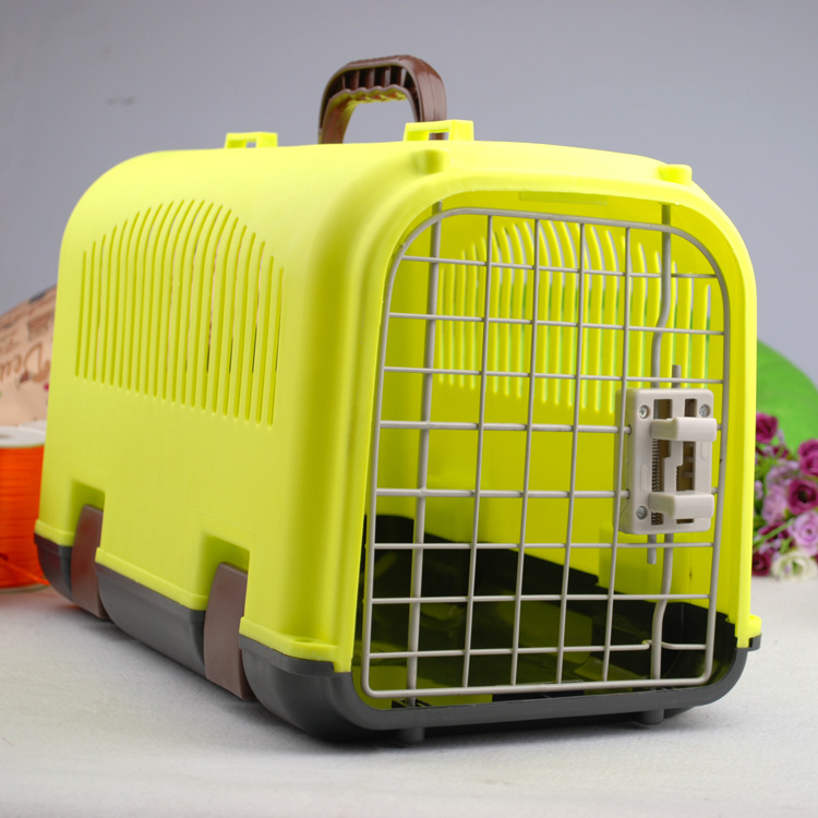 2016 New Airline approved plastic Pet Cages Best Dog Crate Collapsible Pet Kennels