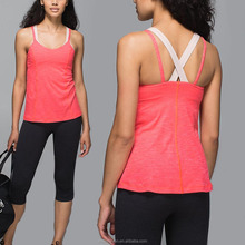 Hot Selling Products Spaghetti Strap Wholesale Women Gym Tank Top