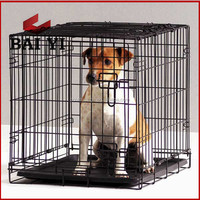 Foldable collapsible wire dog cage/ dog craft/ dog kennel