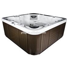 Low Price Air Spa Bath Tub Black