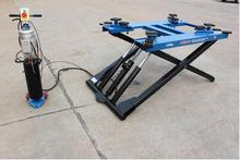 Tyre service mid rise mobile mini tilting scissor car lift