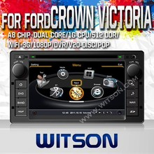 WITSON FOR FORD CROWN VICTORIA 2008-2012 FACTORY PRICE CAR DVD WITH 1.6GHZ FREQUENCY 1080P 1G DDR RAM 8GB FLASH CAPACTIVE