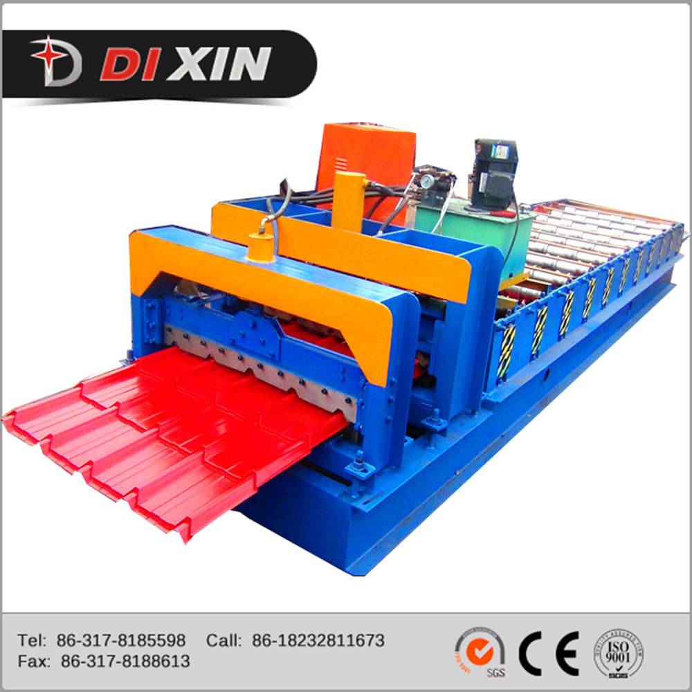 Philippines Design Durable Fully Automatic Metal Roofing Roll Forming Machine