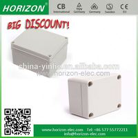 round or square type for your choose outdoor waterproof ABS plastic junction box