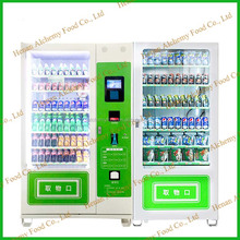 high quality snack vending machine,automatic vending machine,salad vending machine