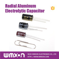 Low Cost Radial SH Aluminum Capacitor for Power Switch