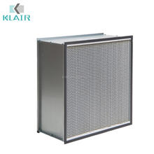 Glassfiber High Temperature MERV16 HEPA Air Filter 12 Inches air filter
