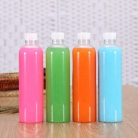 500ml 16oz juice water plastic pet bottles
