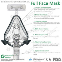Shopping service supremacy liquid silicone cpap mask with high quality