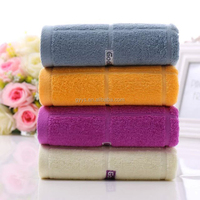 100% pure bamboo fiber family face towel