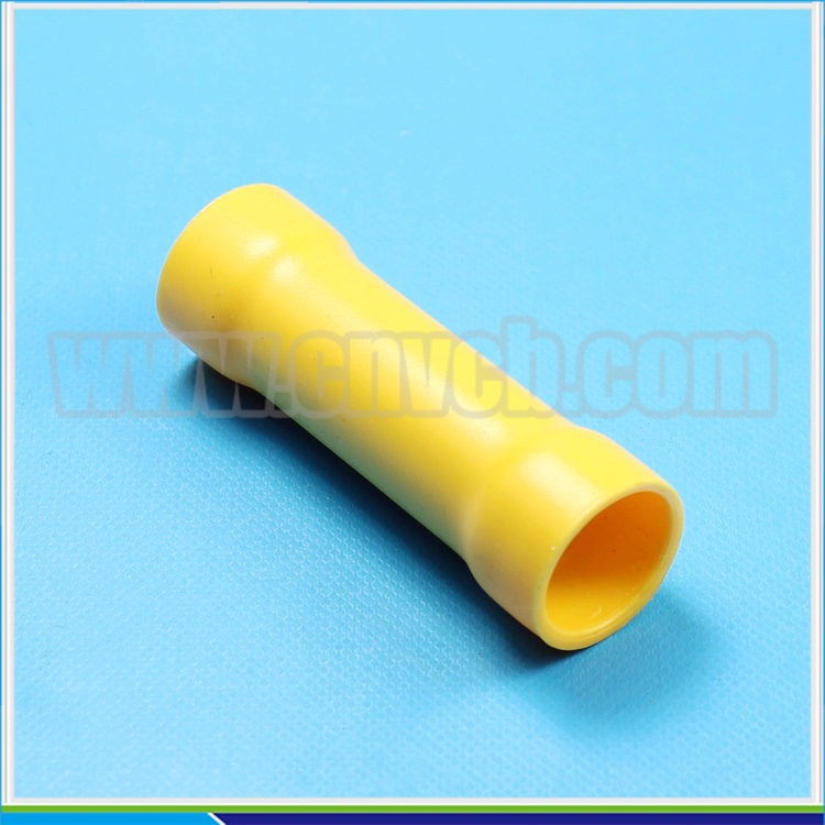 T19-insulated Butt Copper wire Connector (PVC) Butt splice Terminal BV Insulated terminal
