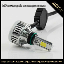 6000lm Low Defective Rate High/Low Beam Led Motorcycle Bi-Xenon Projector Headlight
