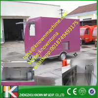 mobile kitchen food van/fast food van/kebab vending food van for sale
