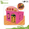 Child safety New Design Kids Wooden playhouse Outdoor Playground For Sale Big Indoor wooden Playhouse With Slide For Kids