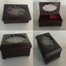 China Supplier Plastic Jewelry Box For Necklace Wedding Gift Music Box