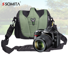 SOMITA waterproof DSLR SLR camera lens backpack case bag