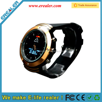 BWQ04 Gold bluetooth Intelligent watch with OLED display