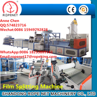 New Condition and Automatic Thermoforming Plastic PP/PE Type Processed Baler Tearing Film Making Machine