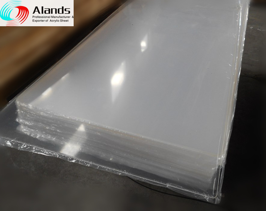 acrylic plastic sheet in raw materials for led lights