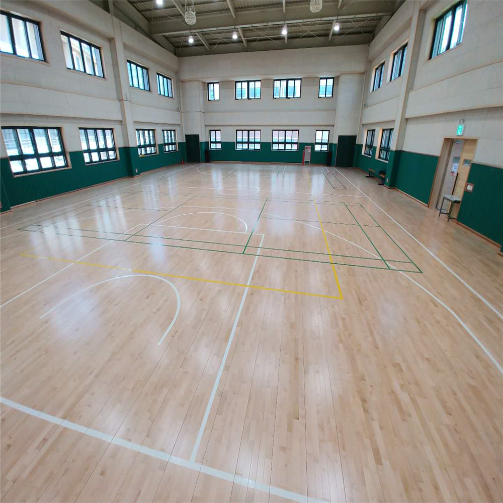 Maple Indoor Used Sports Court Basketball Flooring