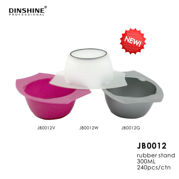 Color Mixing Bowl With Rubber Stand For Barber Salon