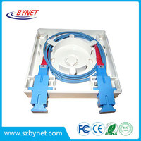 optical fiber panels 2 port SC fiber Face Plate