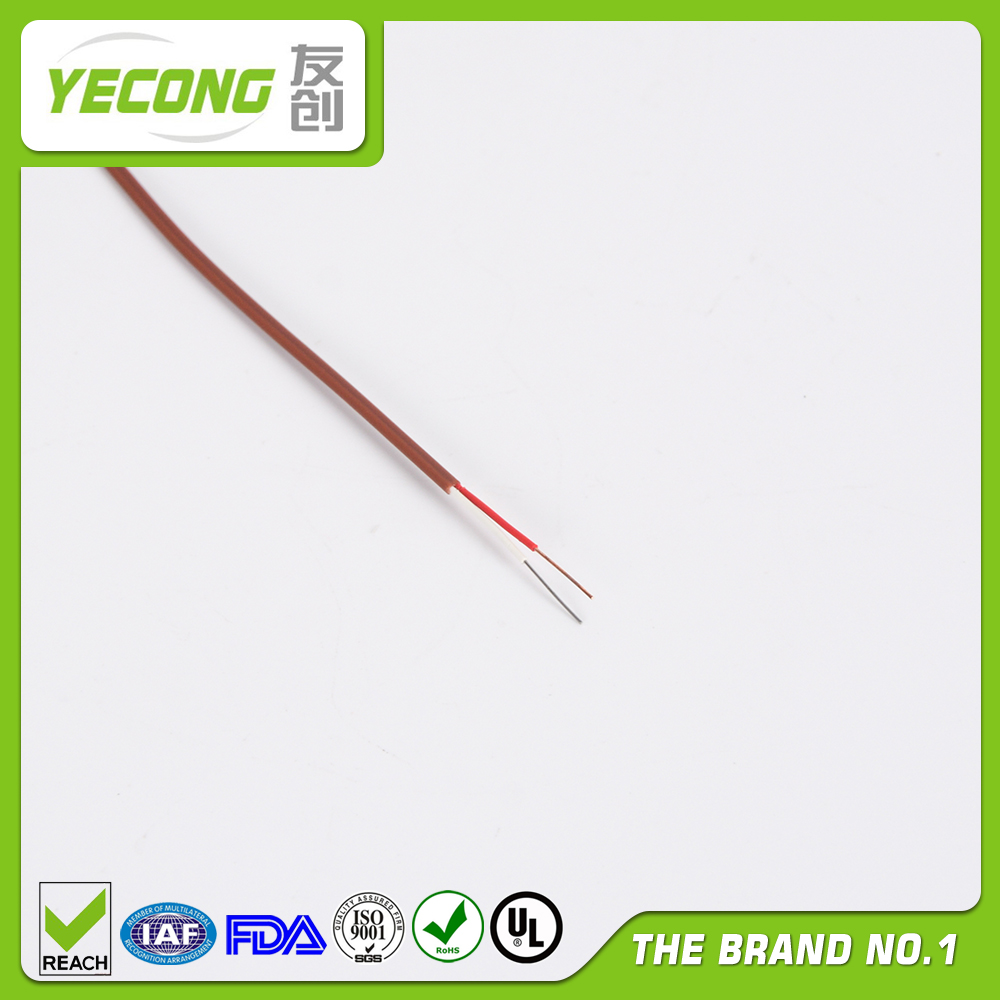 Heat Resistant Thermocouple Wire : Thermocouple compensation wire type t teflon insulated