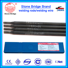 electrode for welding cast steel