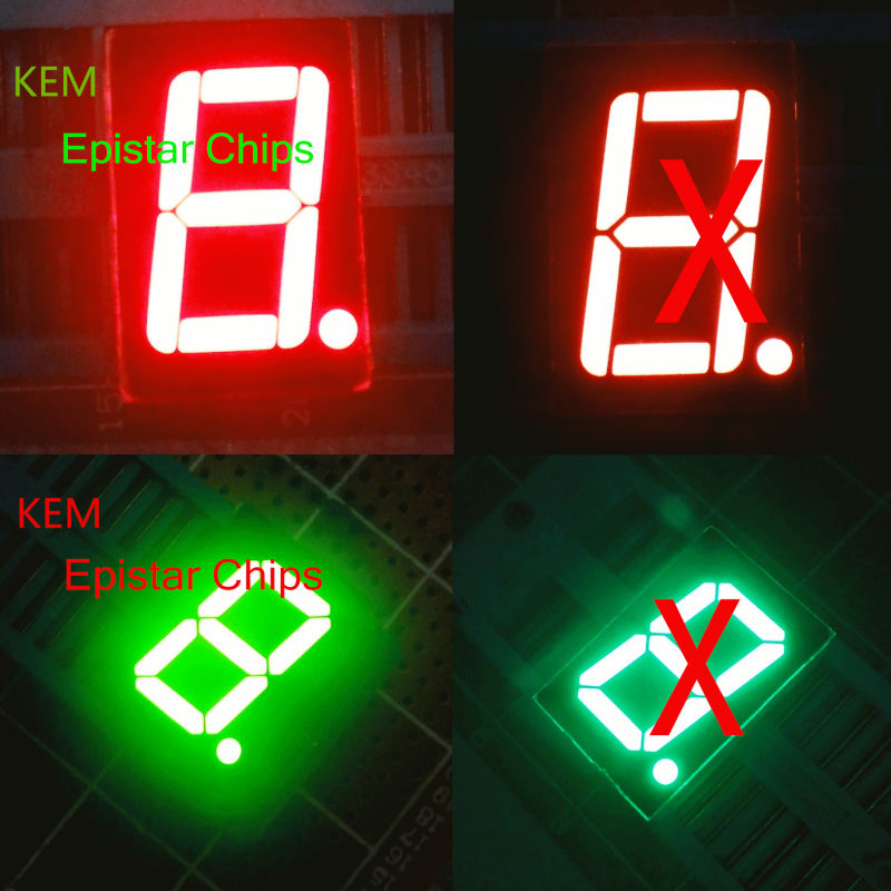 8 inch large outdoor 1 digit 8 inch big 7 segment led display