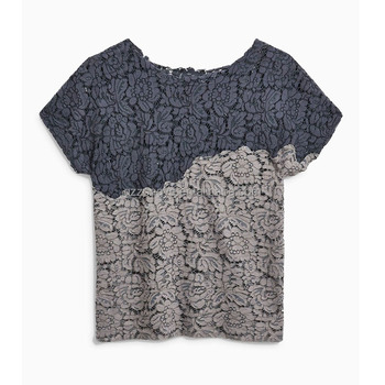 Short sleeve Lace tee shirt customization