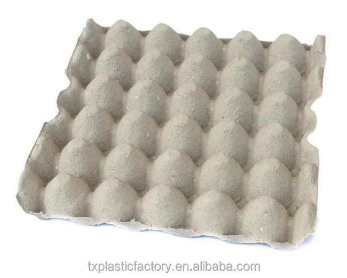 30 cells eco friendly egg paper trays pulp egg carton for packing