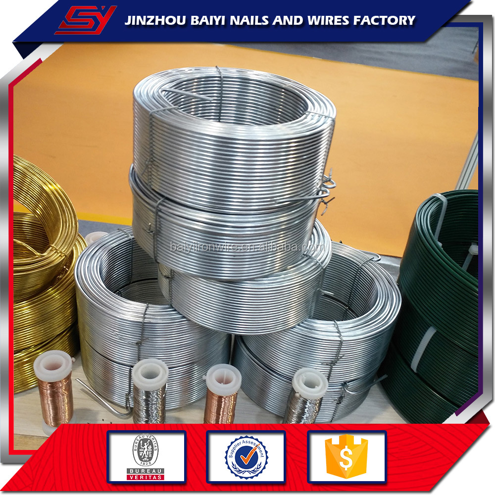Household coil wire item 2.5mmx50m small coil Hot-dipped galvanized iron Binding wire