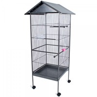 aviary cage for bird of metal material