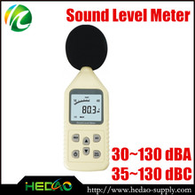 Convenient class 1 sound led level meter