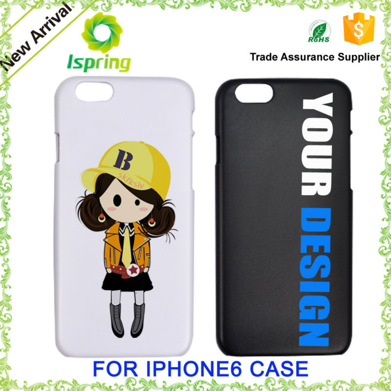 Customized printed decorate phone back cover for iphone, accessories for iphone