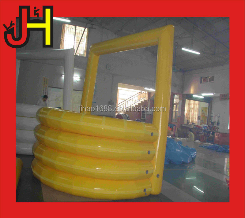 Yellow inflatable arch bar for sale