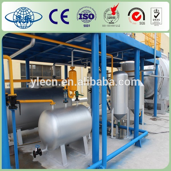 waste tire pyrolysis recycling machine