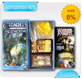 Citadels, Hot Sale Custom Board Game, Chess Board,educational toys,Table Game,Puzzle games customized