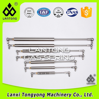 Stainless Steel Pressure Adjustable Gas Spring For Submarine by Manufacturer