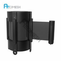 AEOMESH Wall Mounted barriers automatic retracting belt