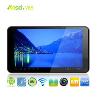 Best Seller 7 inch via8880 Update Cortex-A9 Dual Core 1.5GHz Android Tablet PC 512M RAM 4G ROM Dual Camera hdmi android 4.2 OS