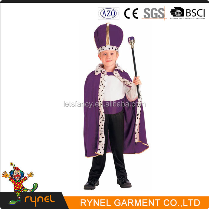 PGCC4718 kids Fancy Dress The Boys King Costumes Cosplay Party Wear Costumes