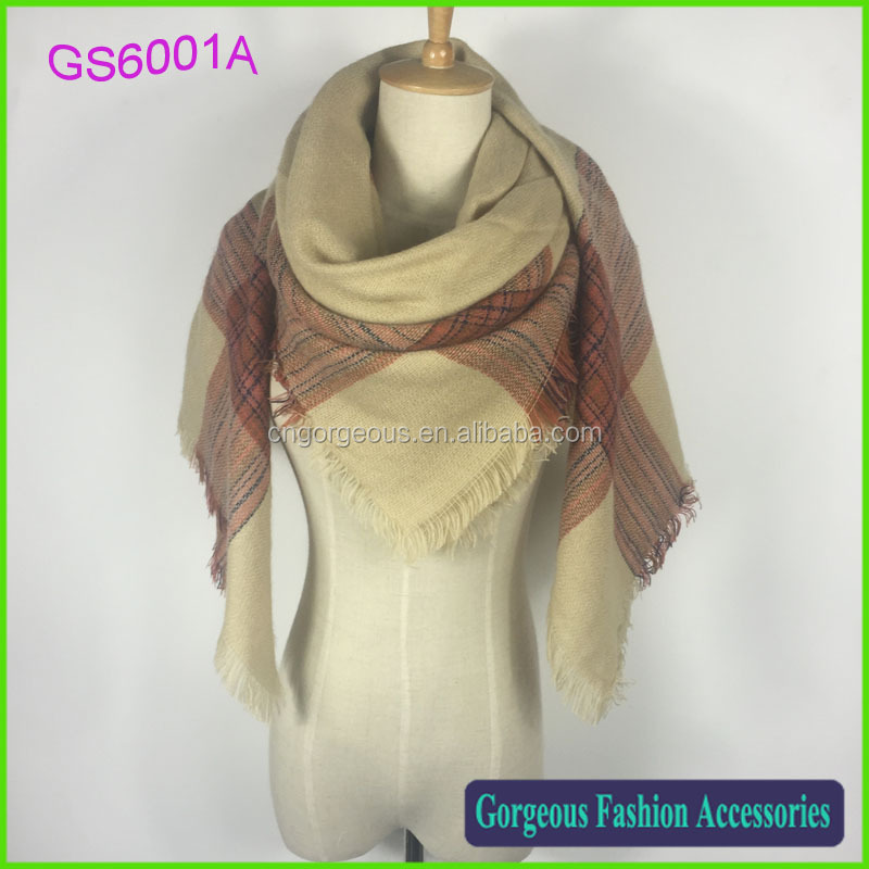 Very beautiful new design za collection 100% acrylic Wrap shawl scarf