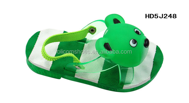 Lovely Bear Kids Sandals 2015 New Stylish Jelly PVC Baby Sandals